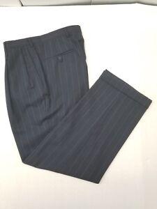 Pants Austin Reed Suit London 33x30 Men S Pinstripe Pleaded Cuffed Inseam 30 Ebay