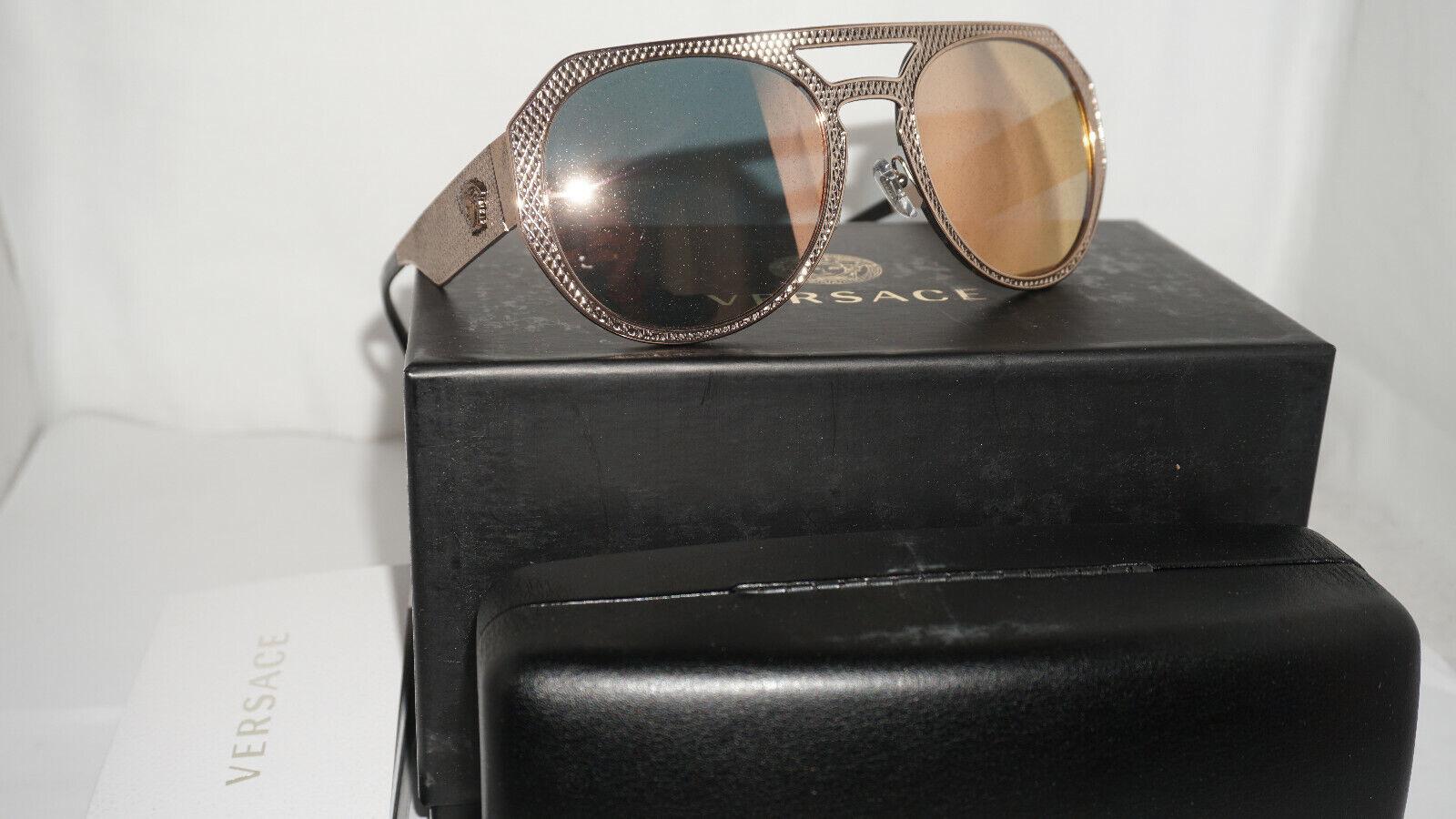 e01ff435b86 Versace 0ve2175 Sunglasses Pink Copper 13954z Size 60mm for sale ...