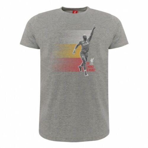 "Sadio Mane /""Oh Mane Mane!/"" Large adult T shirt Liverpool LFC official product"
