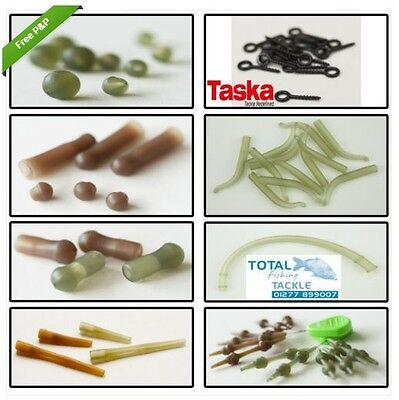 Taska Carp NEW Carp Fishing Terminal Tackle Rig Essentials *Full Range*