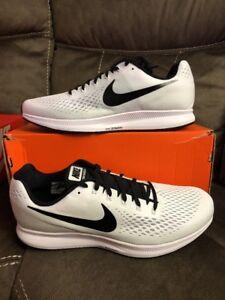 46934bf3c00b47 Men s Nike Air Zoom Pegasus 34 TB White  Black 887009-100 Running ...