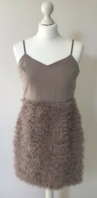 BNWT NEXT NEW Ladies RRP58 Party evening sequin mini short slouch dress sizes