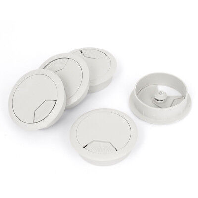 5 Pieces Plastic Cable Gland For Computer Table Cover For