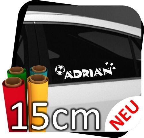 15cm Wunschname Aufkleber Kinder Sticker Name Kindername Wunschtext Styling N.11
