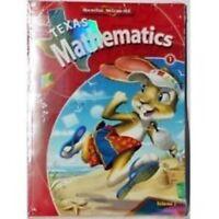 Texas Mathematics 1 First Grade Math Volume 1 & Volume 2