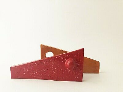 Original mid century modernist abstract ceramic sculpture by Daniel Hukill