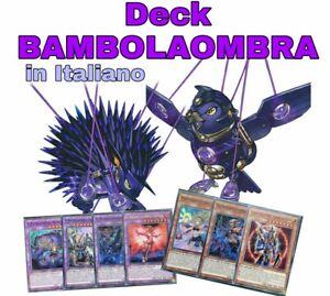 Yu-Gi-Oh-Deck-Mazzo-Completo-BAMBOLAOMBRA-ITALIANO-40-Carte-Extra-Deck