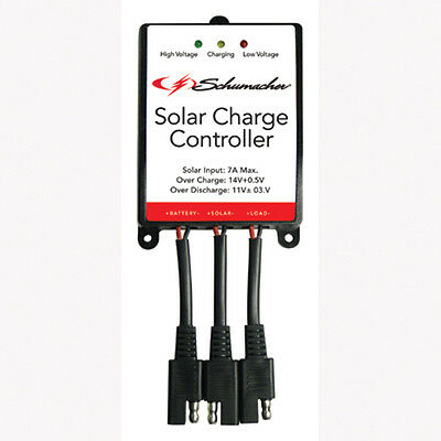 Affidabile Schumacher Electric Spc-7a Solar Charge Controller,protects Batt From Overcharge