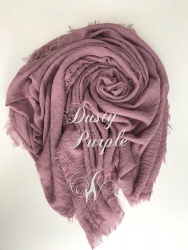 crimp HABIBA crinkle scarf hijab maxi PREMIUM QUALITY soft edge shawl wrap