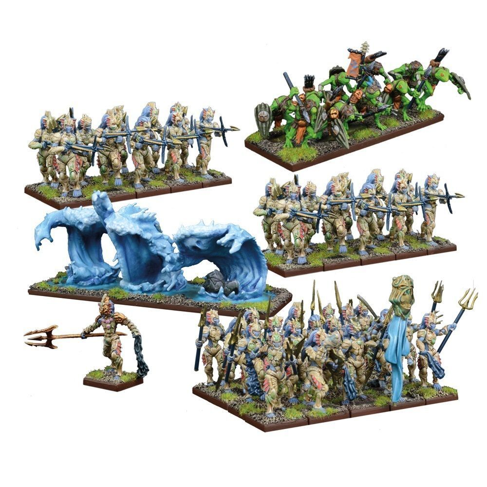 KINGS OF WAR - TRIDENT REALMS OF NERITICA - MANTIC - SENT 1ST CLASS