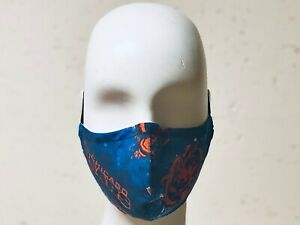 Handmade Chicago Bears Cotton Face Mask Filter Pocket Filters Washable Durable Ebay
