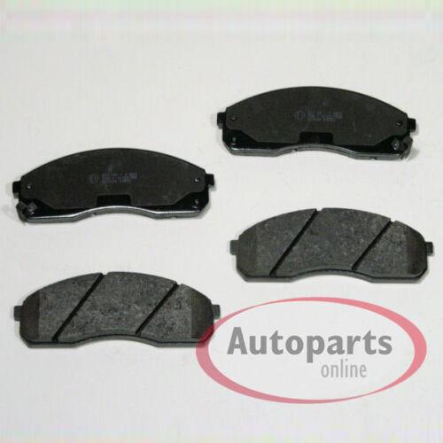 Hyundai Matrix FC Bremsbeläge Bremsklötze für vorne für die Vorderachse