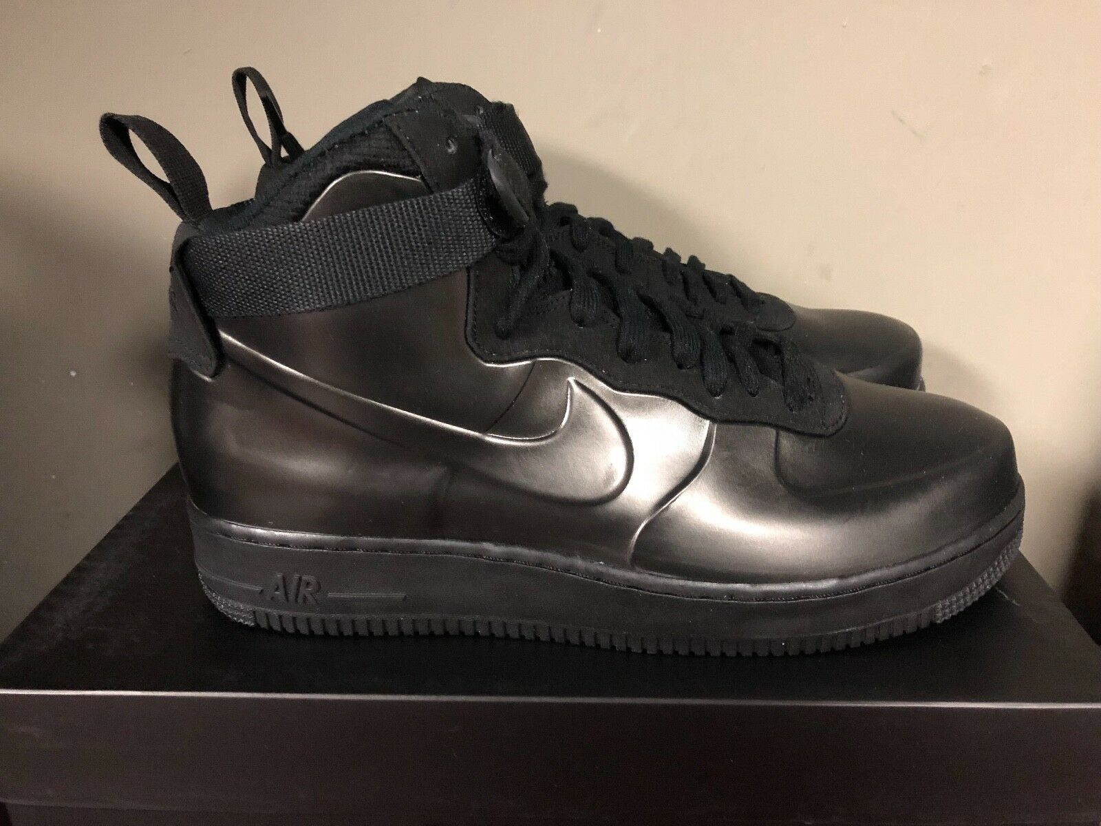 Nike air force 1 foamposite tazza tre neri è ah6771-001 nuovo 2018