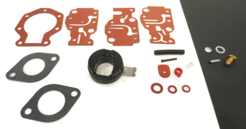TJ10RELETM E10RETM Carburetor Repair Kit for 1993 Evinrude 9.9HP J10RELETM