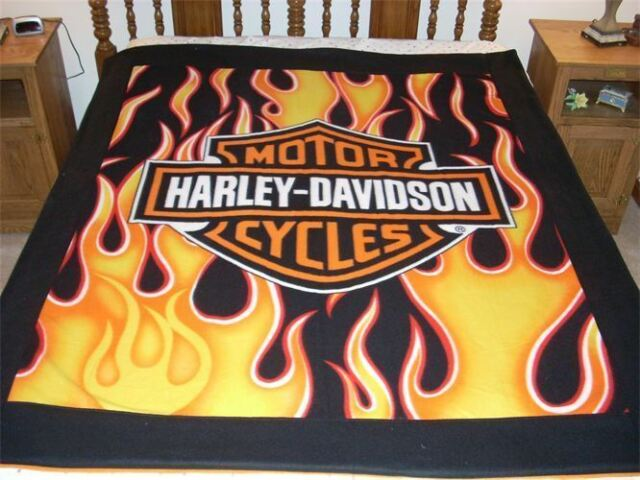 Fleece Throw Blanket Harley Davidson Flames Fresh Logo Faux Mink Gorgeous Harley Davidson Blankets And Throws