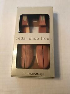 Hold-Everything-Cedar-Wood-Shoe-Trees-Stretchers-Women-s-Large-10-11-5-M-New