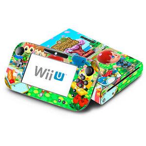 Details about Animal Crossing New Leaf - Nintendo Wii U Skin Decal Sticker  Vinyl Wrap