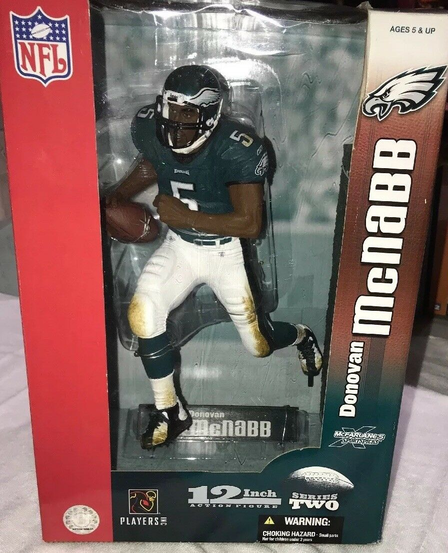12  QB Donovan McNabb Series 2 Figure Eagles McFarlane Sports NFL Football