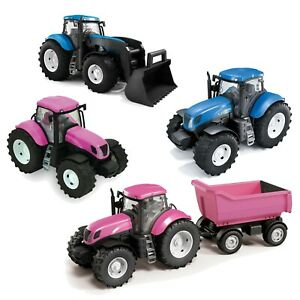 Kids-Real-Looking-Colourful-Plastic-Toy-Tractor-Indoor-Outdoor-Summer-Beach-Play