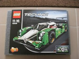 Brand New with damaged box LEGO Technic 42039 24 Hours Race Car
