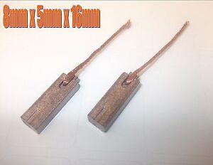 Kit-Charbon-S-039-Adapte-a-Bosch-Marelli-Iskra-Alternateurs-de-Balais-8-mm-X-5mm-X