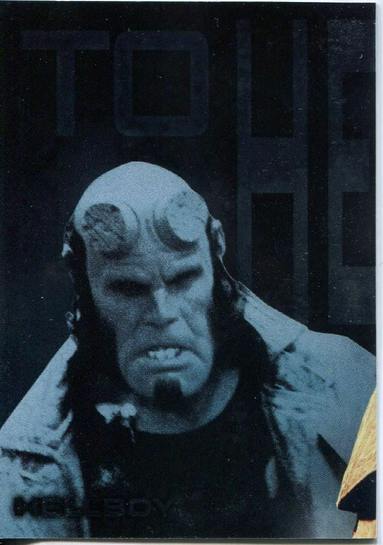 Hellboy The Movie To Hell And Back Chase Card P5