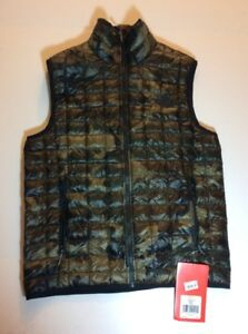 cbbbc56cd Details about NWT $149 Mens The North Face Thermoball Vest Green Camo SIze  Small Packable