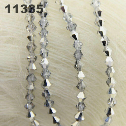 Crystal Bead Spacer Craft Loose Beads Jewelry DIY 4mm 120 Pcs