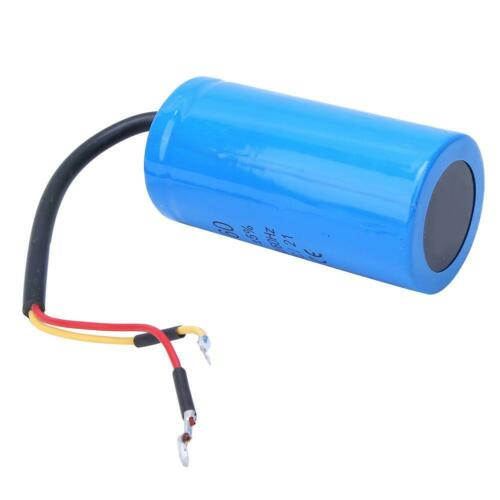 CD60 250V 300uf Capacitor Explosion-Proof Household Appliances Accessory Durable