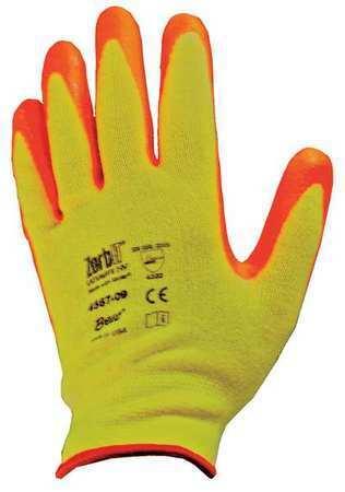 Cut Resistant Gloves,Yellow//Ornge,2XL,PR SHOWA BEST 4567-11