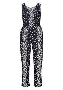 bc438acef871a5 Das Bild wird geladen Joe-Browns-Damen-Jumpsuit-Overall-Playsuit-Anzug-Lang-