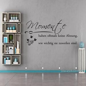 Wandtatoo-Wohnzimmer-Spruch-Momente-haben-oftmals-keine-Ahnung-Wand-Deko