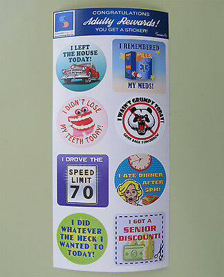 Adult Reward Stickers Series 2 You Adulted Today Congratulations adult humor