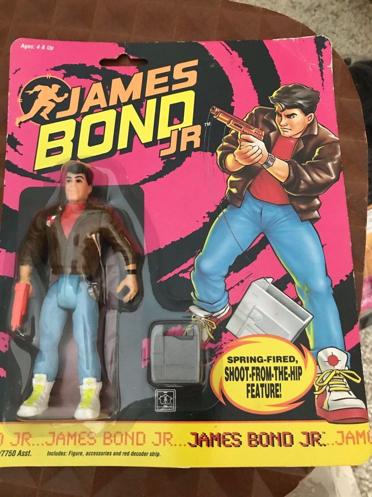 Hasbro CHOOSE Combine Shipping! Action Figures Vintage 1991 James Bond Jr
