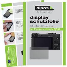6x dipos Panasonic Lumix DMC TZ61 matte Displayschutzfolie Antireflex Testsieger