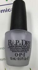 OPI Nail Treatment Rapid Dry Top Coat NT T74 .5oz/15ml Brand New No Box