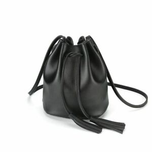 Crossbody-Handtaschen-Kordelzug-Eimer-Tasche-fuer-Frauen-Umhangetasche-Hand-Q7C1