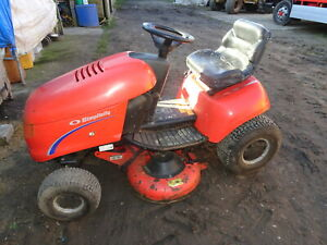 Details about SIMPLICITY REGENT 17HP HYDRO RIDE ON LAWNMOWER MOWER TRACTOR  MULCH DECK 40