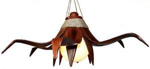 palmenblatt lampe