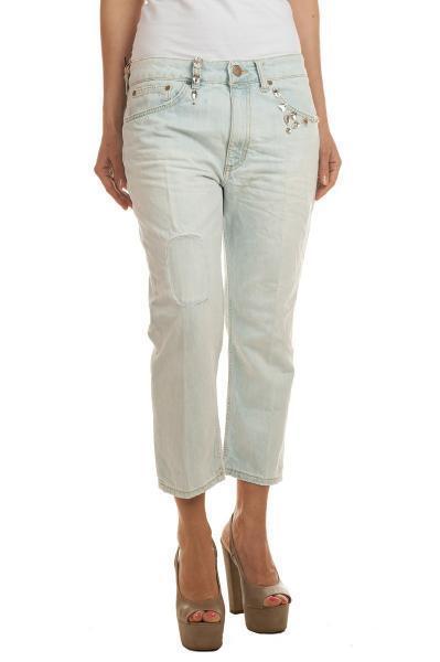 Dondup  -  Pants - Female - White - 2113013A185652