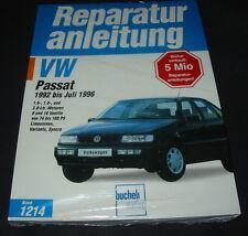 Reparaturanleitung VW Passat B4 Limousine + Variant + G60 synchro 1992-1996 NEU!
