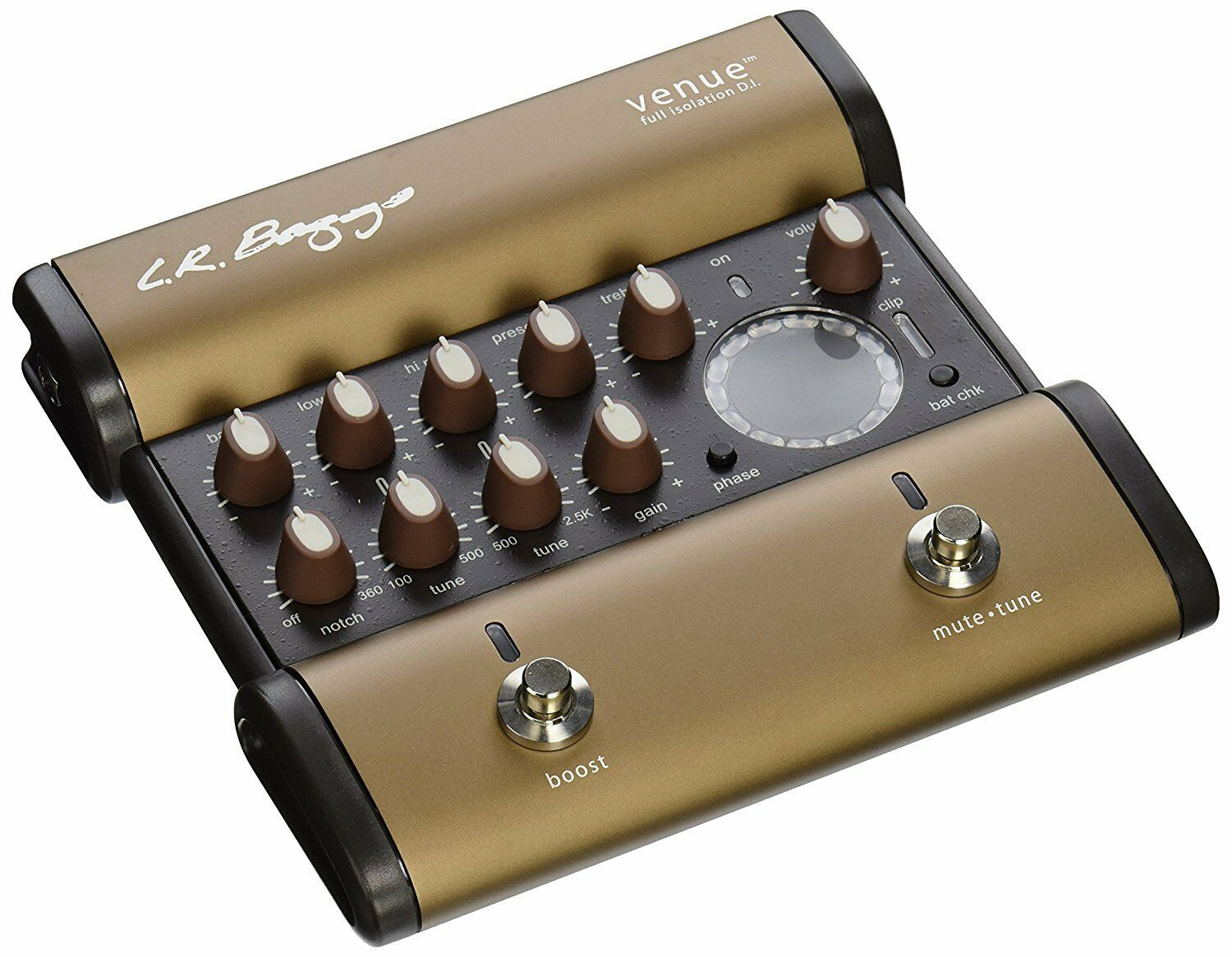 LR Baggs VENUE DI Acoustic Guitar Preamp Direct Box and Effects Pedal