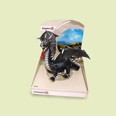 """72057-/""""Drache schwarz/""""#Schleich #Drachen#Dragon-NEU in OVP-mint in Box!!"""