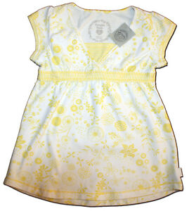 New-PUMPKIN-PATCH-Size-6-Yellow-amp-White-Floral-T-Shirt-Top