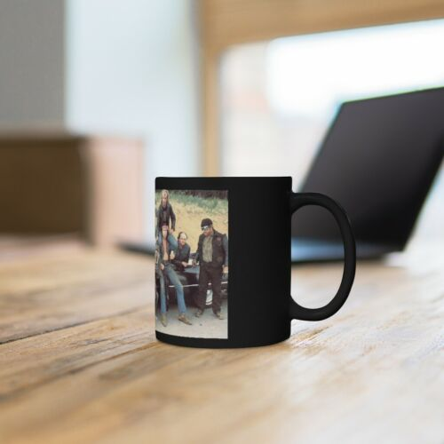 The Black Widows from Any Which Way But Loose Black mug 11oz