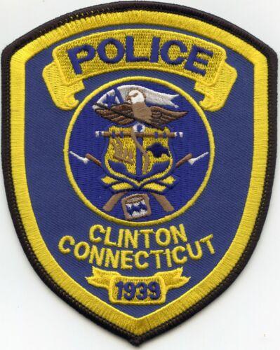 CLINTON CONNECTICUT CT POLICE PATCH
