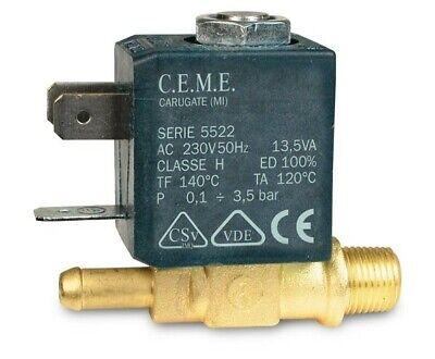 CEME 588 Magnetventilspule 230V 13,5VA  für Bügelstationen Dampfreiniger