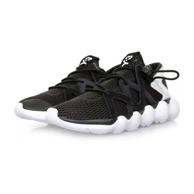 Adidas Y-3 Kyujo Low - Black and White - REDUCED TO CLEAR, WAS 285, NOW 160!!
