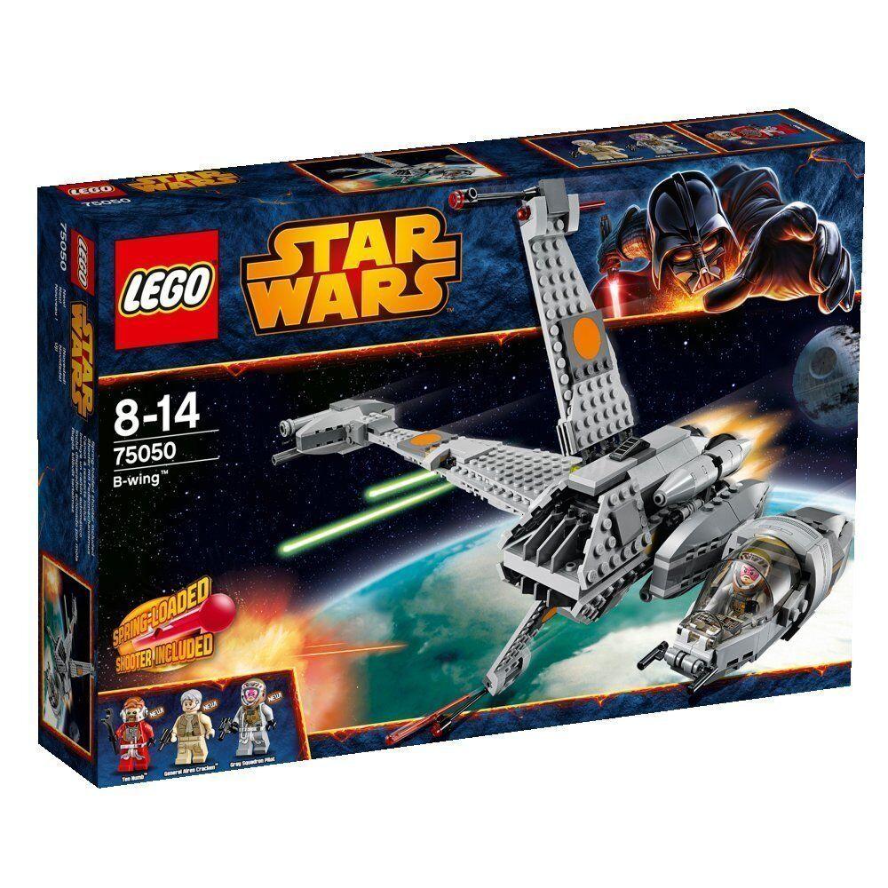 Lego Star Clone Wars 75050 B-WING BWING B WING STAR FIGHTER NISB XMAS Present