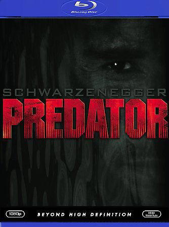 Predator [Blu-ray] DVD, Arnold Schwarzenegger, Carl Weathers, Kevin Peter Hall,